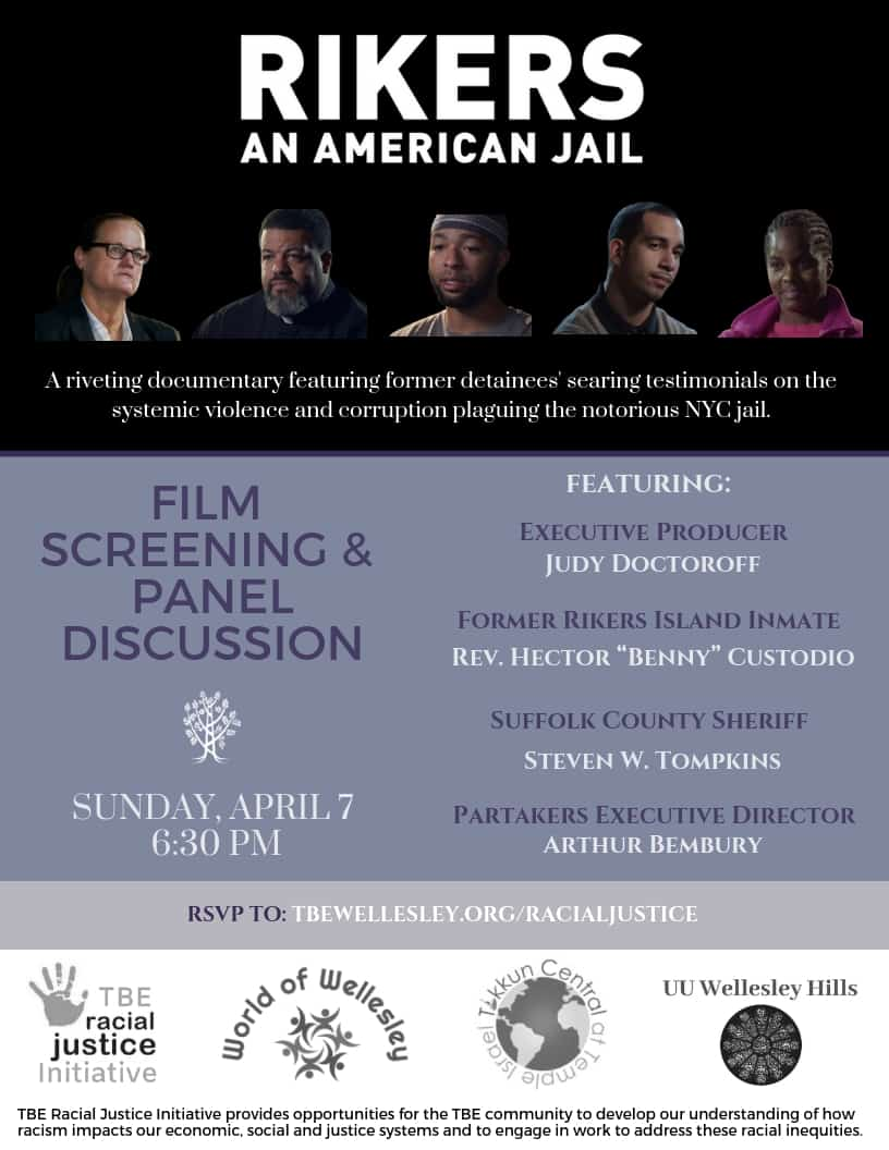 Rikers Film & Discussion EMAIL