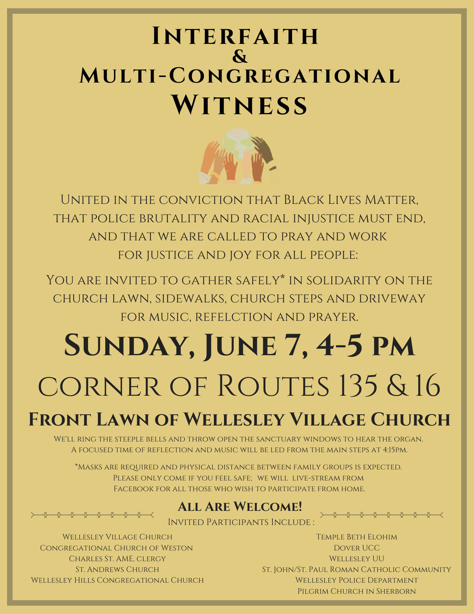 Interfaith Witness June 7