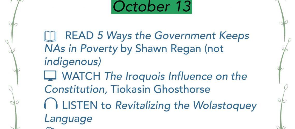 Equity Challenge Oct 13