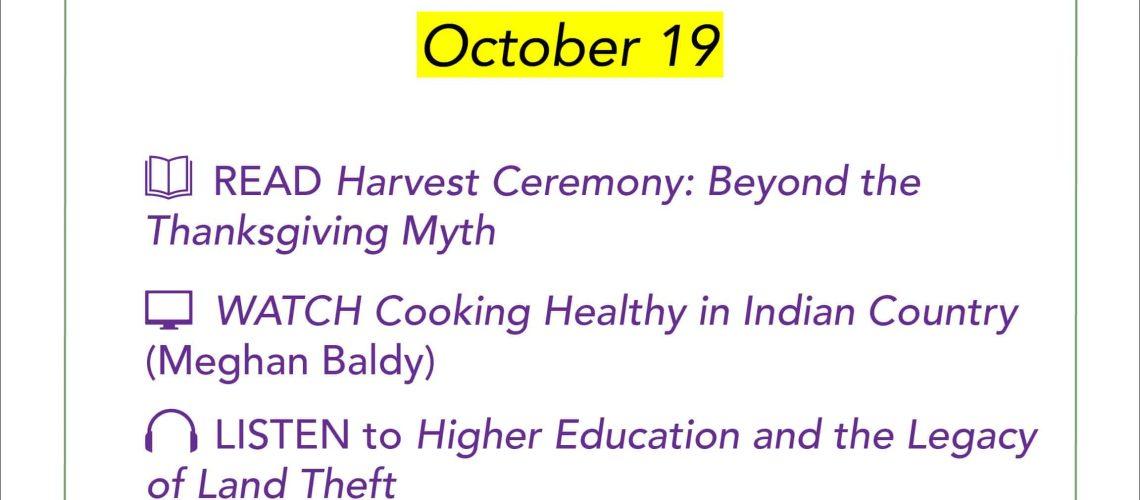Equity Challenge Oct 19