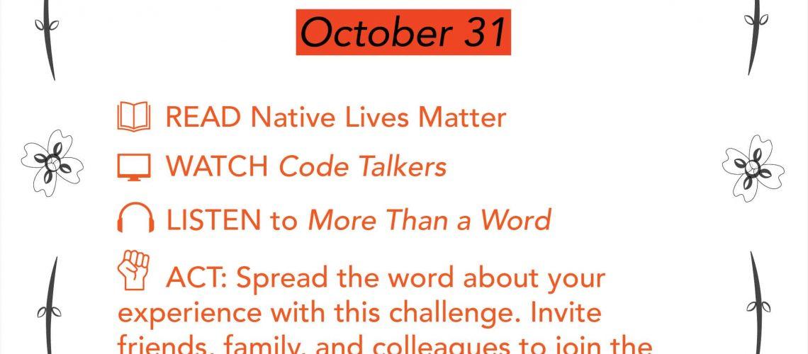Equity Challenge Oct 31