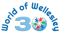 world-of-wellesley-30th-logo